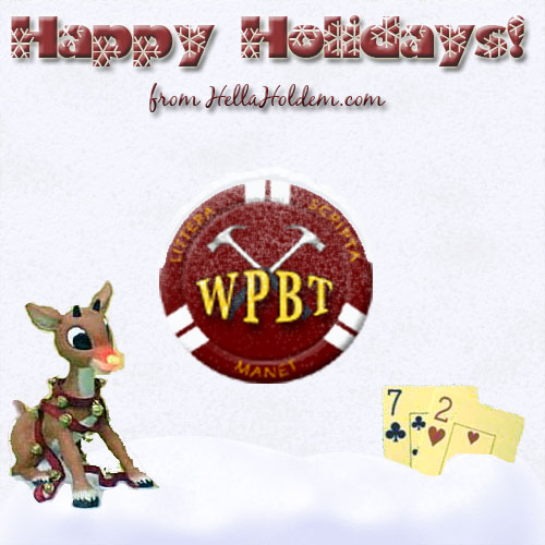 Happy Holidays from HellaHoldem.com!