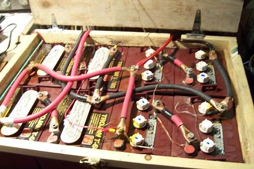 Peter's backup batteries