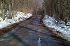 endless road (Sander-Martijn) Tags: loneliness poconos pennsylvania sandermartijn severeddreams severed dreams severeddreamscom endless road dirt distance travel