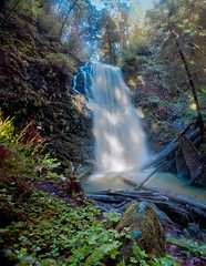 Berry Creek Falls, Big Basin State Park - by tychay