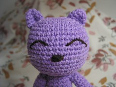 amigurumi cat 2 (ccyytt) Tags: amigurumi purple cat crochet handmade craft cotton yarn