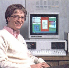 Bill Gates selling windows
