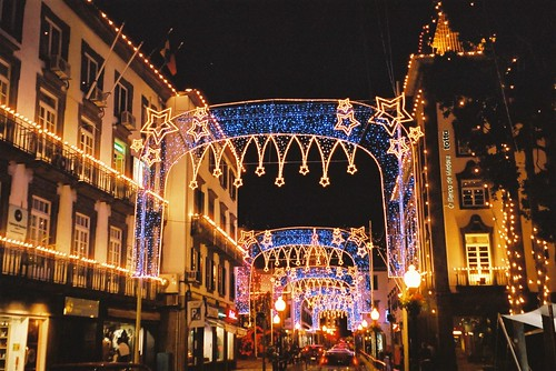 Photo Of The Day: Christmas Decorations in Funchal, Madeira ...