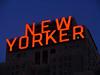 [2005] New Yorker Hotel's Sign... (Diego3336) Tags: nyc newyorkcity windows light urban usa ny newyork building window sign skyline night skyscraper logo dawn hotel twilight lowlight neon nightshot dusk manhattan newyorker