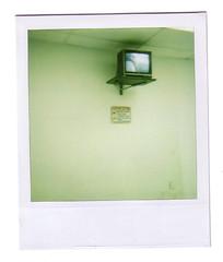 Laundromat 6 (Martha Duerr) Tags: minnesota polaroid tv minneapolis 600 laundromat lakest formerlyinstant100best
