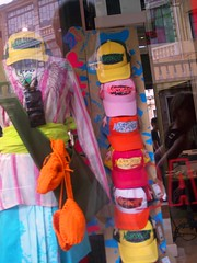 Shop Window in Padua (C.Lowrance) Tags: padova padua italy window shopwindow hats caps clothes reflections colors warmcolors