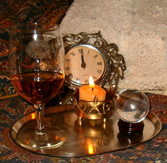 Wishing You Comfort and Peace in 2006 (unprose) Tags: photoplay aroundhere tampbay stpetersburg ball candle midnight newyears 2006 liberty clock lace