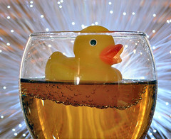 Special Of The Day... (Bubba Trout) Tags: new tag3 taggedout drunk interestingness tag2 tag1 champagne year 2006 ducky newyearseve allrightsreserved i500 allrightsreserved interestingness1500 3waychallenge 3wc