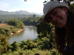 View from 'papa' over River Kwai (CameronJTait) Tags: thailand elephants river kwai