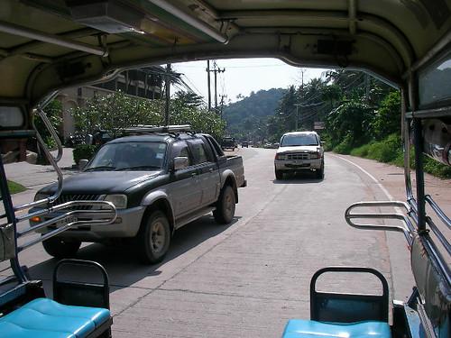 Songthaew ride