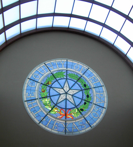 County Building Stained Glass