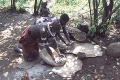 Daily life of the Surma #2 (foto_morgana) Tags: ethiopia surma tribes people anthropology