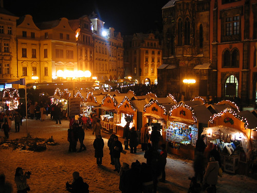 markets in Prague