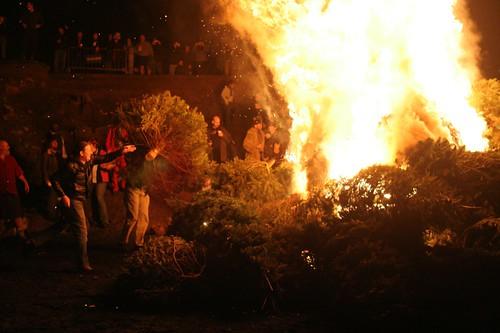Xmas Tree Burn 2006