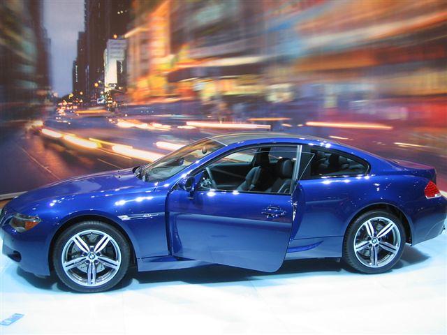 autoshow e63 m6 2006bmwe63m6