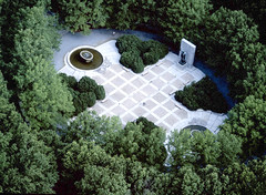 Aerial View of the Theodore Roosevelt Memorial (dctourism) Tags: dc washington theodorerooseveltmemorial