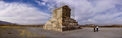 Tomb of Cyrus in Pasargadae (MastaBaba) Tags: panorama iran tomb persia shiraz cyrus pasargadae perfectpanorama bf:header=1 bf:blogitem=2353 bf:blogitem=2780