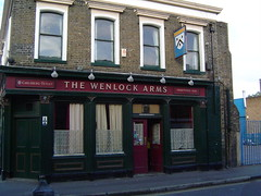 The Wenlock Arms, Islington, London (LoopZilla) Tags: london pubsigns wenlockarms livepubssociety deadpubs wa2012