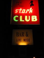 stork club (pbo31) Tags: street red music dice black sign bar club dark cherry pie rouge oakland scary dangerous downtown neon noir character broadway favorites nightclub crime strip bayarea font neonsign nightlife script ruby stork watermellon doorman dicey