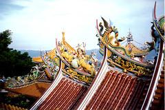 Temple Rooftop, Taipei County, Taiwan