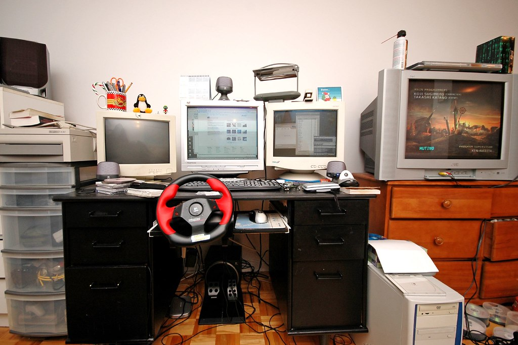 The geek station