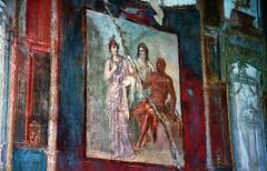 Fresco, Herculaneum (Cameron Booth) Tags: 2003 vacation italy wall painting geotagged ruins europe campania unesco fresco ercolano herculaneum unescoworldheritagelisted explore14jan06 interestingness400 i500 geolat40805802968669 geolon14347023067494