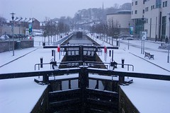 Canal Locks on the River Lagan