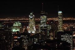 Montreal - Night (caribb) Tags: canada skyline night buildings lights edificios downtown skyscrapers nightshot montral quebec montreal great qubec citylights centrum centreville cityatnight kanada urbanskyline concretejungle nightskyline buildingslitup