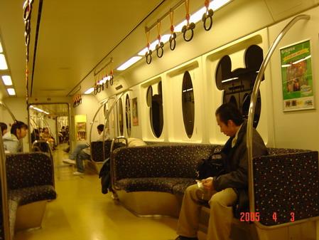 迪士尼列車