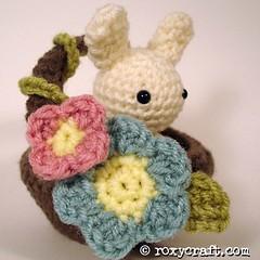 bunnyinabasket (Roxycraft) Tags: amigurumi softies plush mos crochet handmade