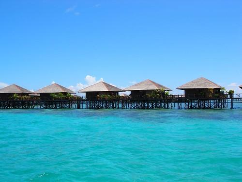 sipadan water village, mabul island
