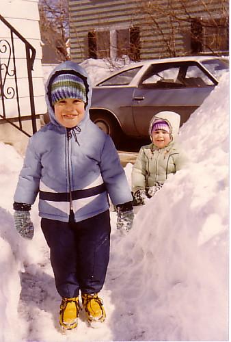 scrapbook tim clampants sister alison snow 1978 blizzard chevy malibu