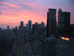 good morning america (416style) Tags: 2005 park city nyc newyorkcity morning urban newyork west america 510fav sunrise time good manhattan banner central midtown sookie cnn warner columbuscircle timewarner 416style