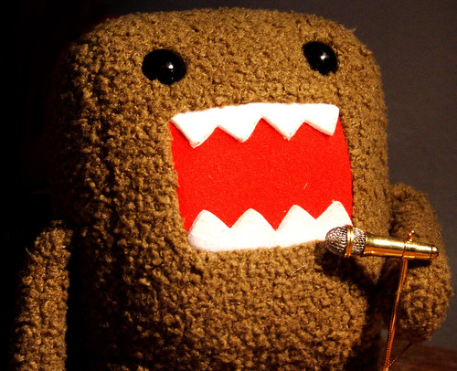Domo Singing His Heart Out by SXN.
