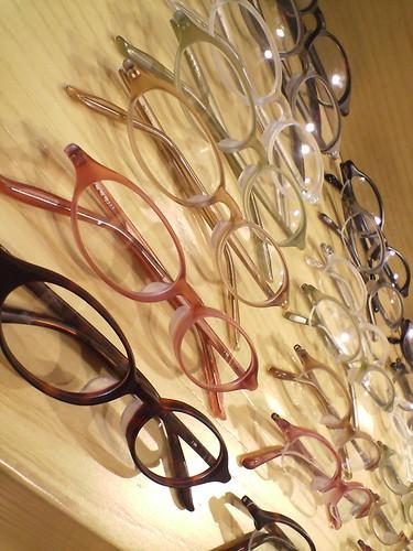 Eyeglass shop in 無印良品