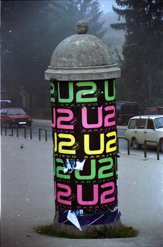 U2 Plays Sarajevo by mhodges.