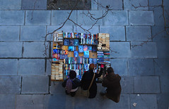 Books (lewishamdreamer) Tags: london southbank bookstall waterloobridge nationalfilmtheatre