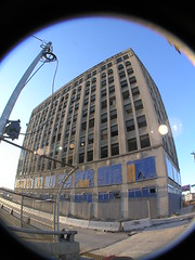 From the Sideline (SNWEB.ORG Photography, LLC.) Tags: old music distortion fish building eye abandoned industry architecture mi skyscraper lens demo parkinglot sad view angle decay michigan albert detroit wide wideangle demolition gone historic lodge full fisheye 180 kahn forgotten frame mich historical fieldofview tall woodward 1968 bld superbowl fullframe dust ornate 1922 kwame decrepit donovan 1972 xl decayed prep rubble bldg berrygordy 1923 fisheyelens albertkahn kilpatrick 180degrees mcm eyesore wreckingball motown woodwardavenue kwamekilpatrick donovanbuilding perspectiv motownrecords motownbuilding albertkahnassociates woodwardave musicindustry superbowlxl donovanbldg motownbldg fisheyedistortion motowncenter motownhq 2457 motow cherrylawnrealty mcmmanagement motownheadquarters cherrylawn lodgefwy superbowlpreperation 2457woodward 2457woodwardave 2457woodwardavenue motowncomplex motownsound motownbldgs motownbuildings fullframefisheye