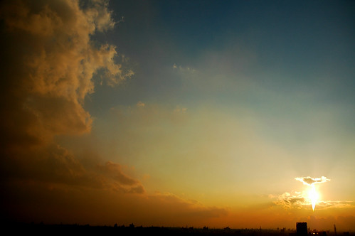 夕焼け空│空・雲│無料写真素材