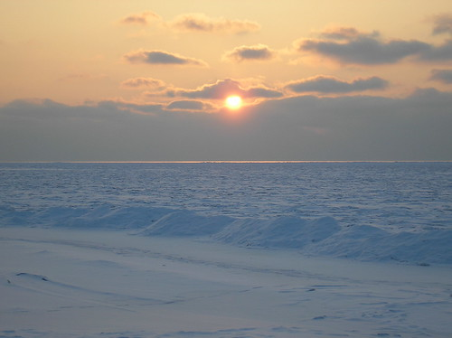 Frozen Baltic Sea