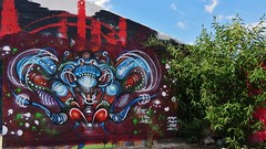 Aphex / Dok Noord - 8 juni 2015 (Ferdinand 'Ferre' Feys) Tags: gent ghent gand belgium belgique belgië streetart artdelarue graffitiart graffiti graff urbanart aphex urbanarte arteurbano ferdinandfeys
