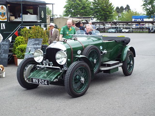 1927 Bentley 3-4 1/2 litre Tourer