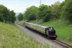 G&WR 4270 @ Dixton (Sicco Dierdorp) Tags: railway cotswolds gloucestershire class steam prairie gala cheltenham warwickshire gwr toddington gotherington 280t gwsr 42xx whinchcombe