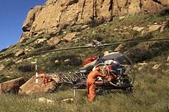 Bell 47 Litter Basket Drill