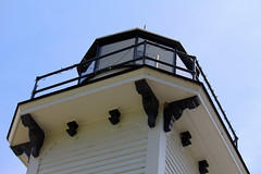 Old Mission Lighthouse (Larry Haines) Tags: old lighthouse michigan mission peninsula