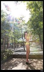nEO_IMG__MG_9454 (c0466art) Tags: school light portrait cute water girl yellow female canon high energy asia play outdoor good gorgeous young taiwan bikini figure lovely charming activity nima 1dx c0466art