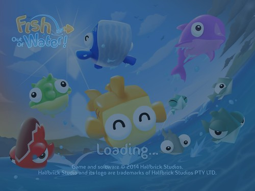 Fish Out of Water Loading: screenshots, UI