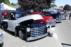 1953 chevrolet (bballchico) Tags: 1953 chevrolet pickuptruck johnvarela jubileedaysshowshine seattle lowrider patronscarshow 206 washingtonstate patrons car club