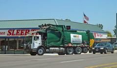 WM Garbage Truck 8-4-15 (Photo Nut 2011) Tags: california trash truck garbage junk sandiego wm waste refuse miramar sanitation garbagetruck sleeptrain wastemanagement trashtruck wastedisposal 205821