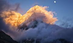 Smoke On The Mountain (craigkass) Tags: nepal mountains trekking asia hiking himalaya kanchenjunga ramche